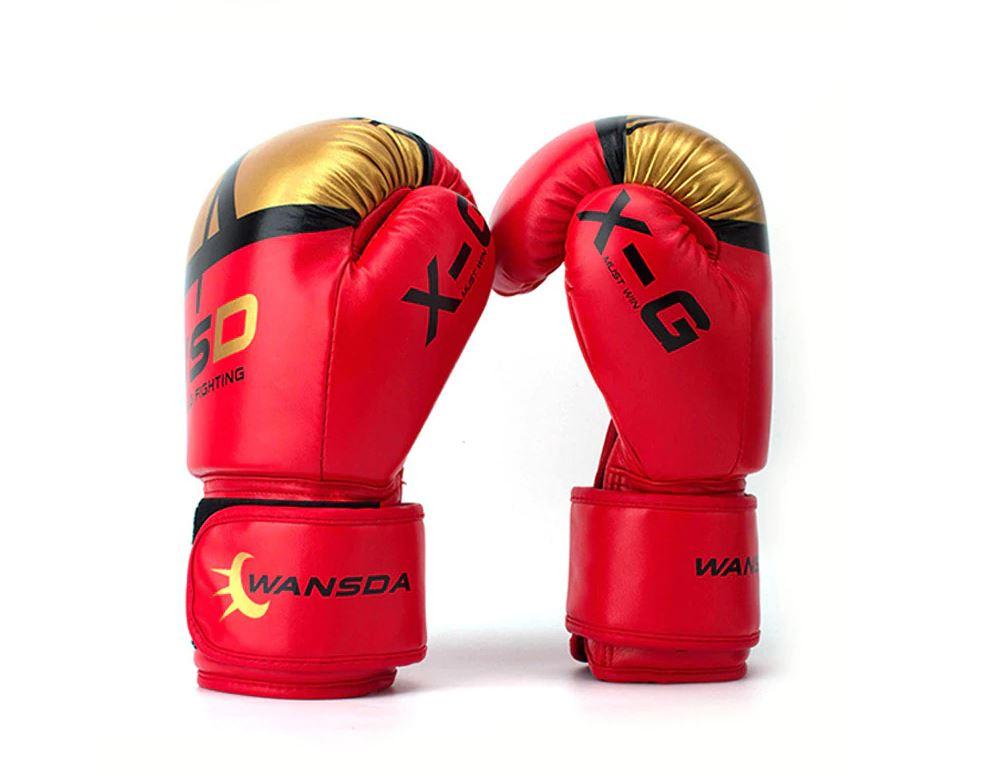 Kick Boxing Gloves for Adults Men Women kids Karate Free Fight Training mast art